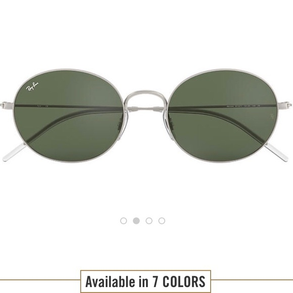 c5c64d34b73 NWT Ray Ban Beat sunglasses silver green classic